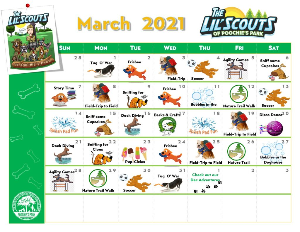 LS Calendar March 21