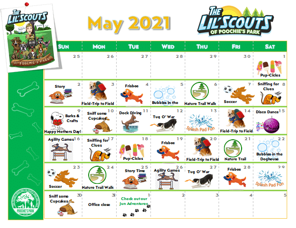May 20 Lil Scouts Adventure Club